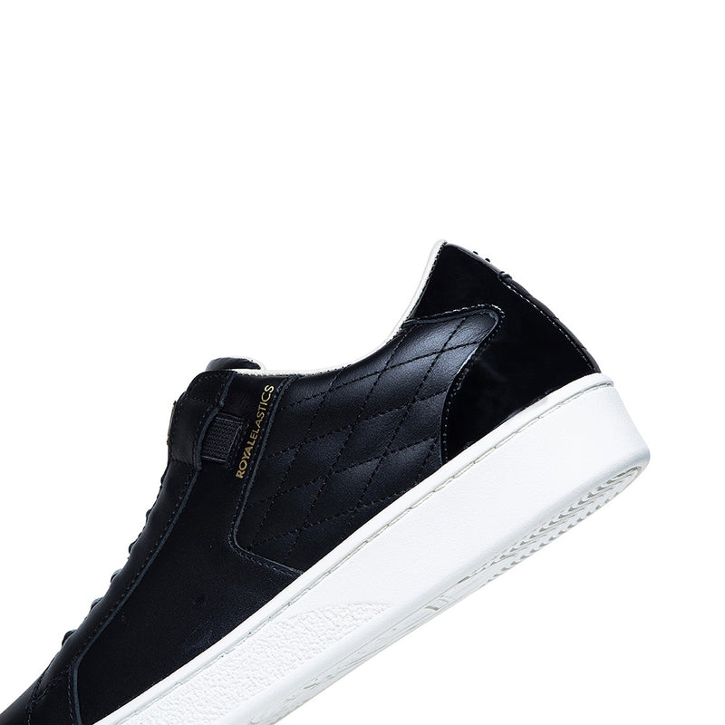 Men's Adelaide Black Leather Sneakers 02711-999