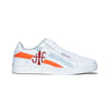 Women's Icon Cross White Orange Red Leather Sneakers 92901-028 - ROYAL ELASTICS