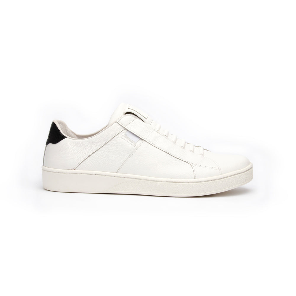 Men's Icon Urbanite White Black Leather Sneakers 02982-090 - ROYAL ELASTICS