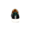 Men's Icon Urbanite Black Green Leather Sneakers 02982-949