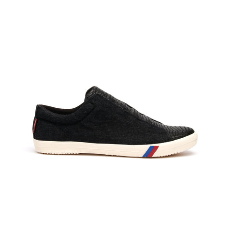 Women's Dublin Black Denim Low Tops 93782-000