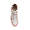 Men's King White Pink Leather Sneakers 04292-010 - ROYAL ELASTICS