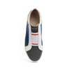 Men's King White Blue Gray Leather Sneakers 04292-850 - ROYAL ELASTICS