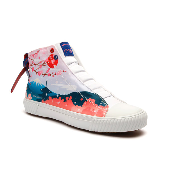 Men's Harajuku Fujiyama Canvas High Tops 04783-152 - ROYAL ELASTICS