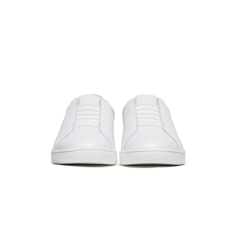 Men's Lume White Leather Sneakers 05002-000