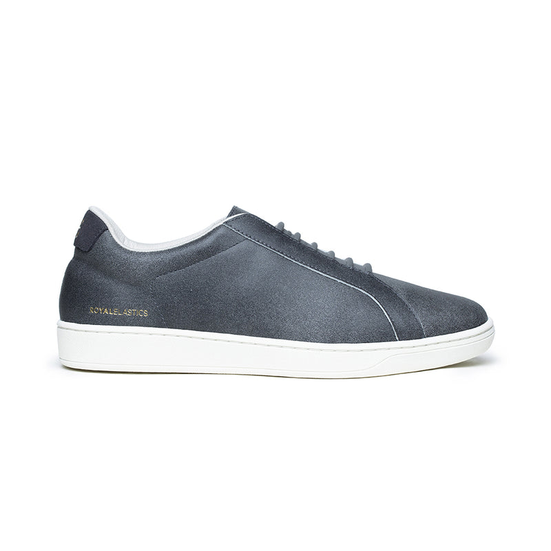Men's Lume Dark Blue Leather Sneakers 05002-880