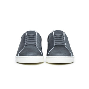 Men's Lume Gray Leather Sneakers 05002-880