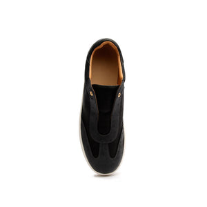 Men's Epiphany Black White Leather Loafers 06284-980 - ROYAL ELASTICS