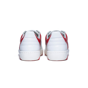 Women's Icon Archer Red White Leather Sneakers 96394-001 - ROYAL ELASTICS