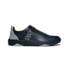 Men's Icon Archer Black Gray Leather Sneakers 06394-998 - ROYAL ELASTICS