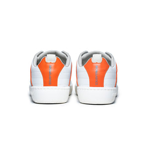 Men's Icon 2.0 Orange White Leather Sneakers 06501-052