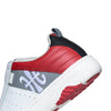 Men's Icon 2.0 Red Gray Leather Sneakers 06501-081