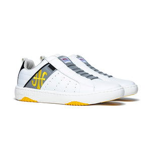 Men's Icon 2.0 Yellow Gray Leather Sneakers 06501-083