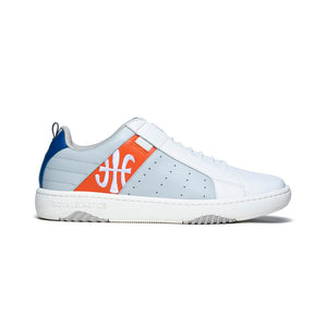 Men's Icon 2.0 Blue Orange Leather Sneakers 06501-802