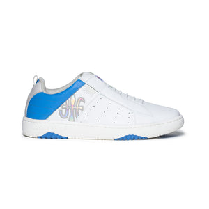 Men's Icon 2.0 Blue White Leather Sneakers 06502-085