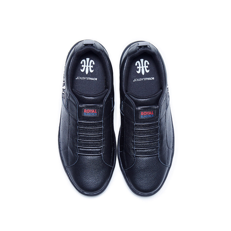 Men's Icon 2.0 Black Leather Sneakers 06502-909