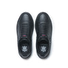 Men's Icon 2.0 Black Silver Leather Sneakers 06502-999