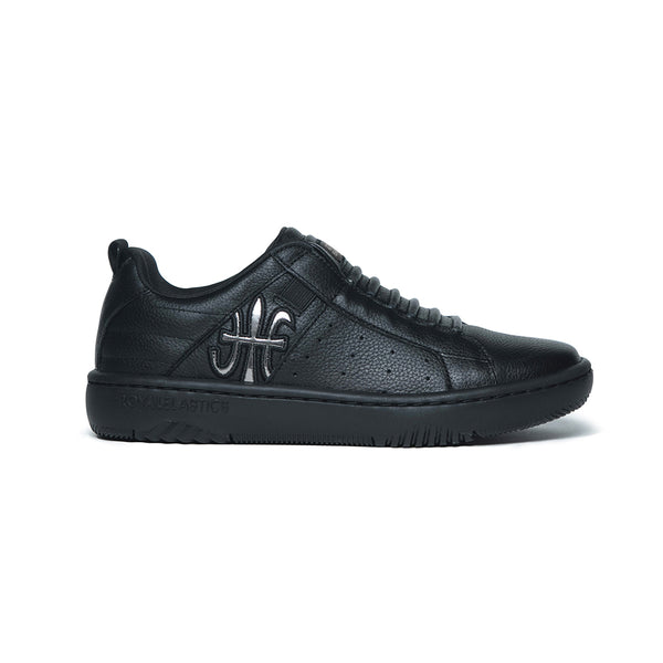 Men's Icon 2.0 Black Leather Sneakers 06511-999