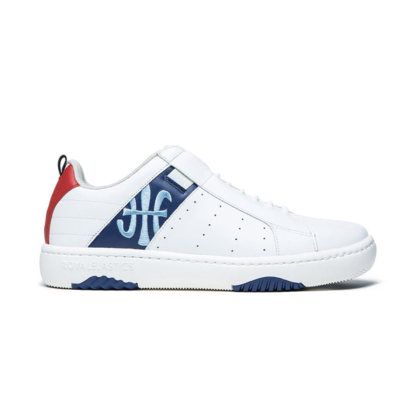 Men's Icon 2.0 Blue Red Leather Sneakers 06512-051