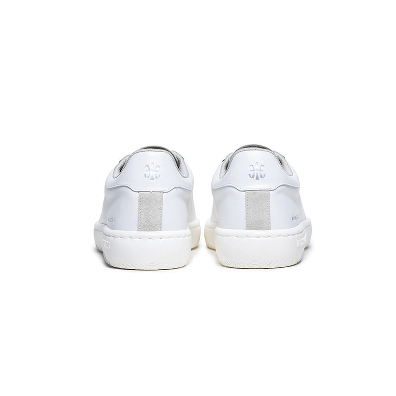 Men's Astre White Leather Sneakers 06901-000