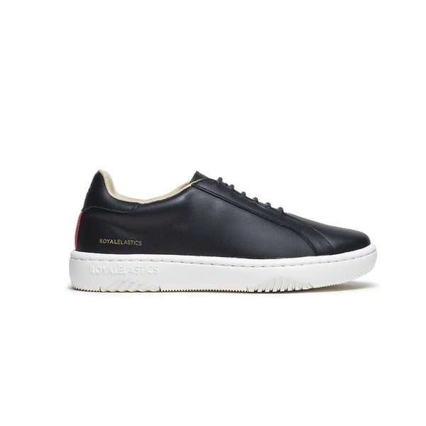 Men's Astre Black Leather Sneakers 06901-991