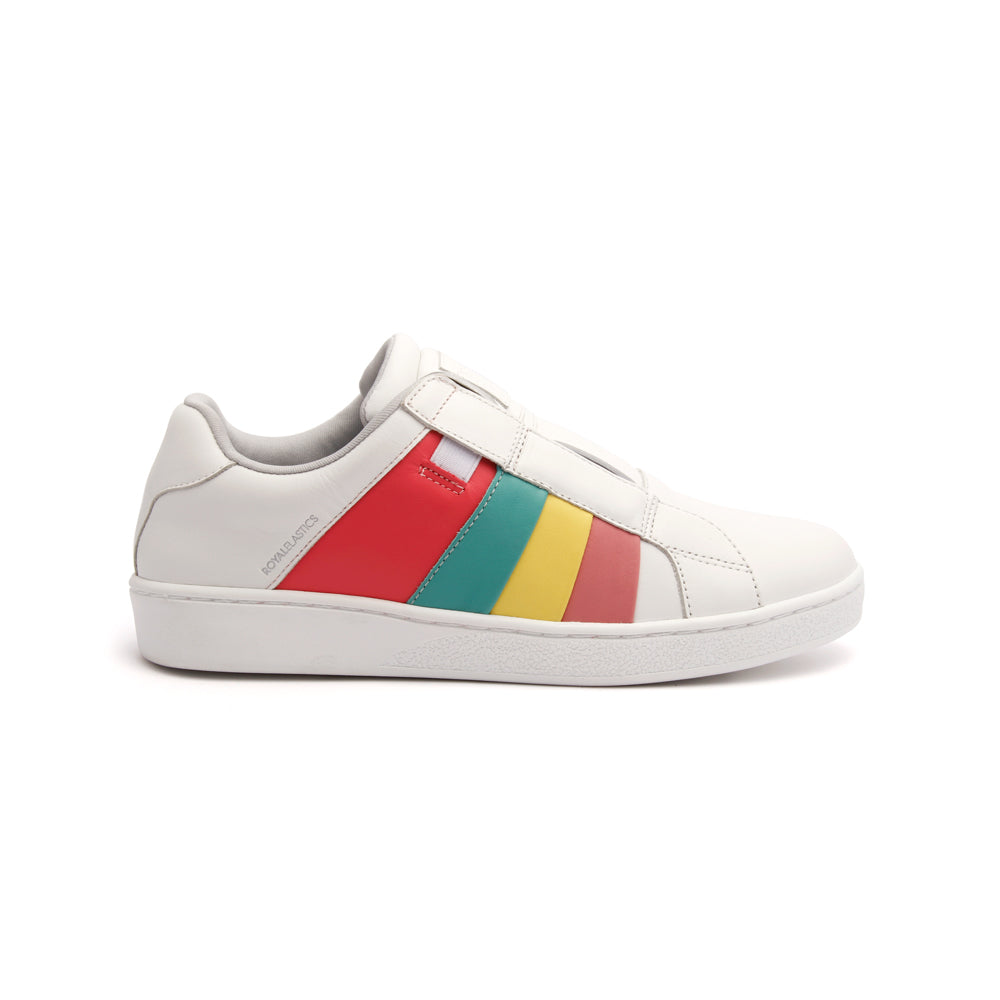 Women's Prince Albert Multicolored Leather Sneakers - ROYAL ELASTICS