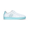 Women's Icon Genesis White Blue Leather Sneakers 91901-040 - ROYAL ELASTICS