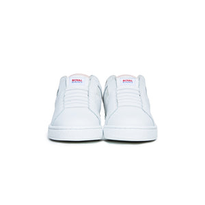 Women's Icon Genesis White Pink Leather Sneakers 91902-016
