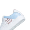 Women's Icon Genesis White Blue Leather Sneakers 91902-551