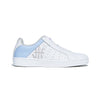 Women's Icon Genesis White Gray Leather Sneakers 91902-658