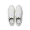 Women's Icon Beige Navy Leather Sneakers 91903-005