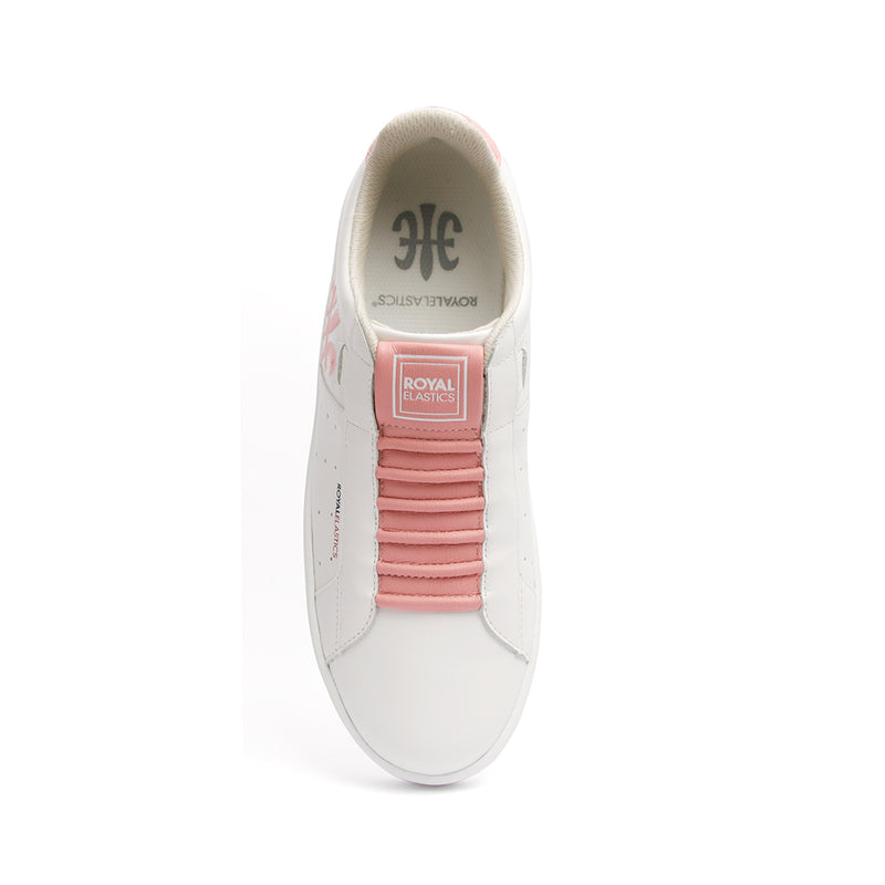 Women's Icon Genesis Color Bar Pink Leather Sneakers 91992-010 - ROYAL ELASTICS