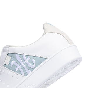 Women's Icon Genesis White Blue Leather Sneakers 91994-050