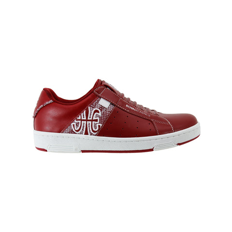 Women's Icon Red White Leather Sneakers 92081-110