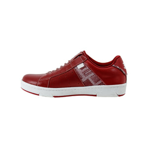Women's Icon Red White Leather Sneakers 92081-110 - ROYAL ELASTICS