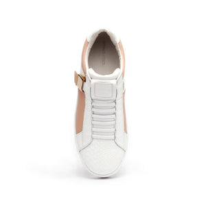 Women's Icon Blazer White Nude Leather Sneakers 92082-110 - ROYAL ELASTICS