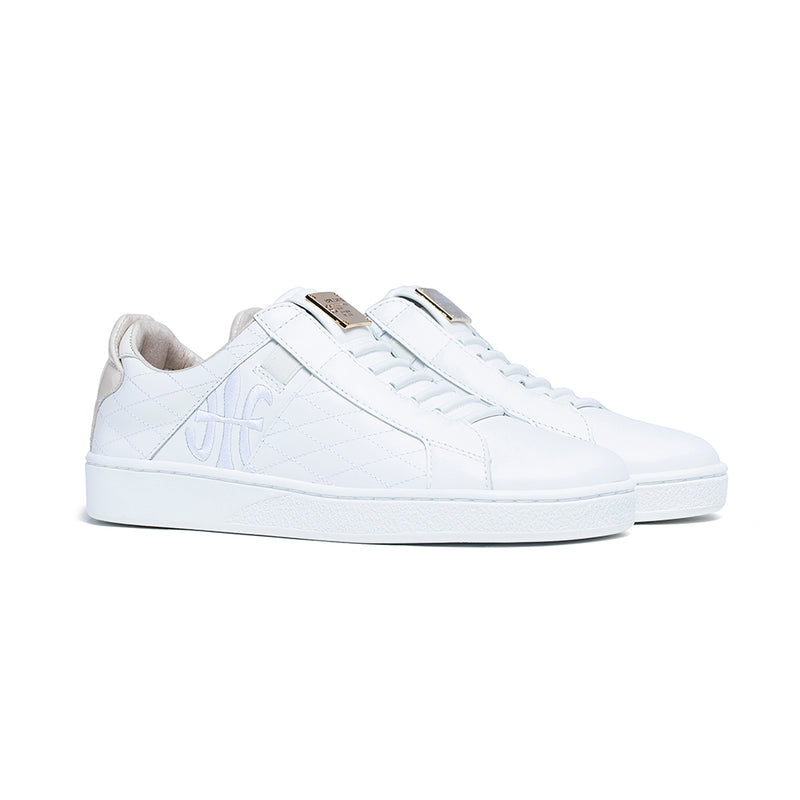 Women's Icon SBI White Cream Leather Sneakers 92501-000 - ROYAL ELASTICS