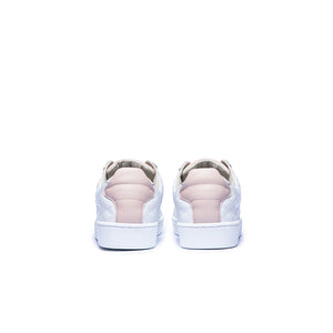 Women's Icon SBI White Pink Leather Sneakers 92502-016