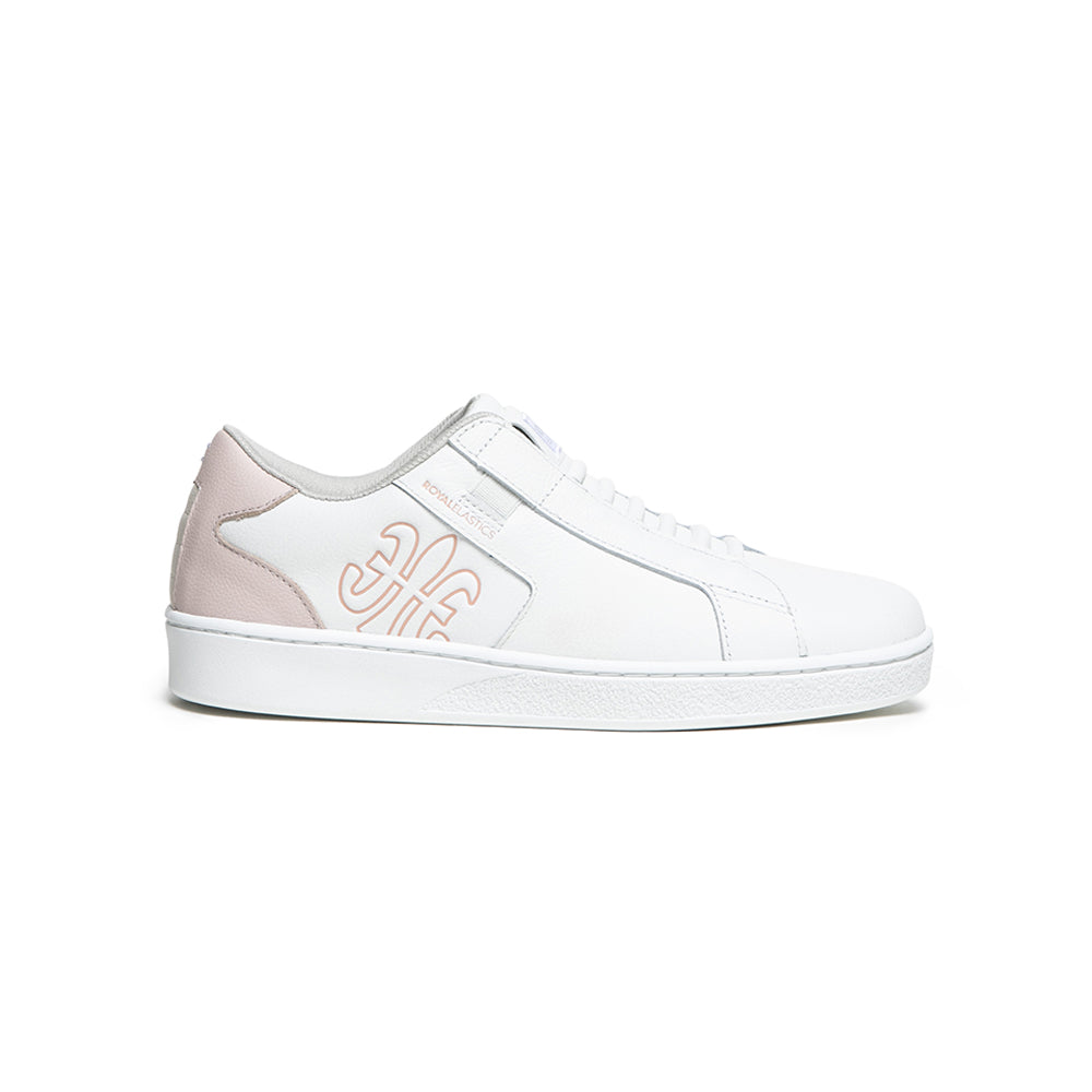 Women's Adelaide White Pink Sneakers 92603-001