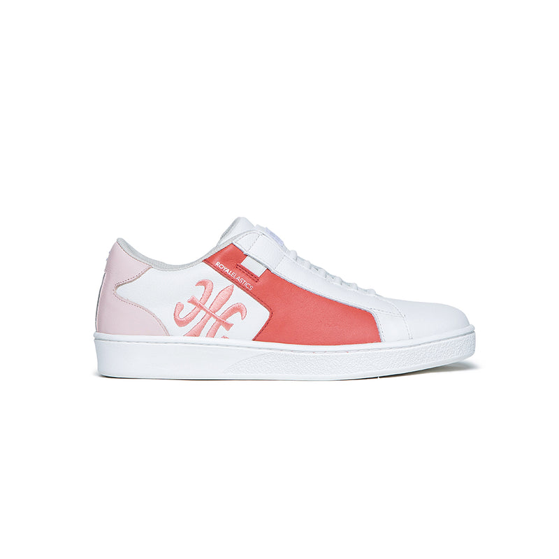 Women's Adelaide White Pink Sneakers 92612-018