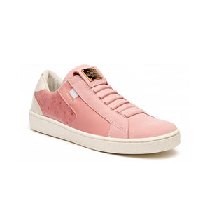Women's Adelaide Pink Gray Leather Sneakers - ROYAL ELASTICS