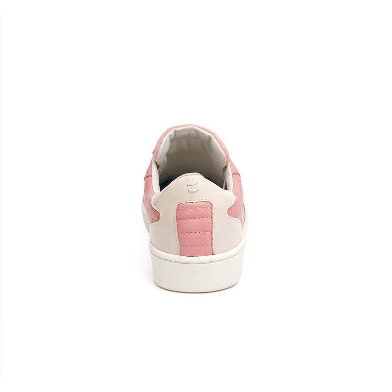 Women's Adelaide Pink Gray Leather Sneakers 92684-110 - ROYAL ELASTICS