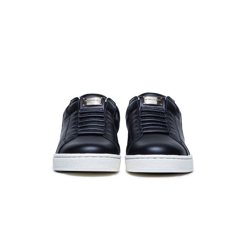 Women's Adelaide Black Leather Sneakers 92711-999