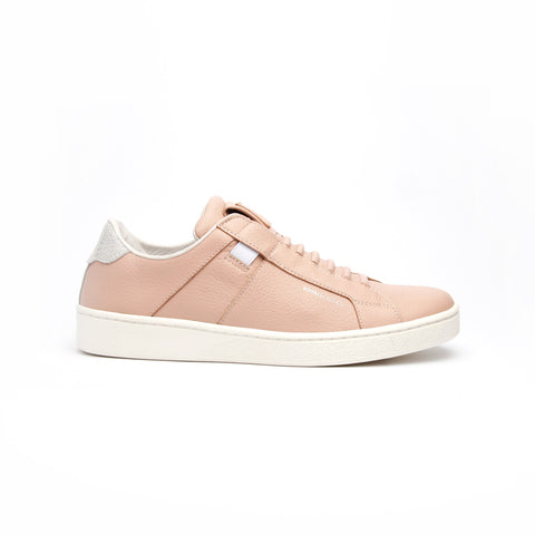 Women's Icon Urbanite Nude Silver Leather Sneakers 92982-011