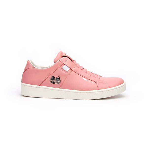 Women's Icon Z Catwalk Pink Leather Sneakers 92982-111