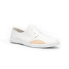 Women's New York White Nude Leather Flats 93882-001 - ROYAL ELASTICS
