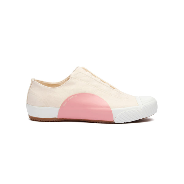 Women's New York Beige Pink Canvas Low Tops 93982-010