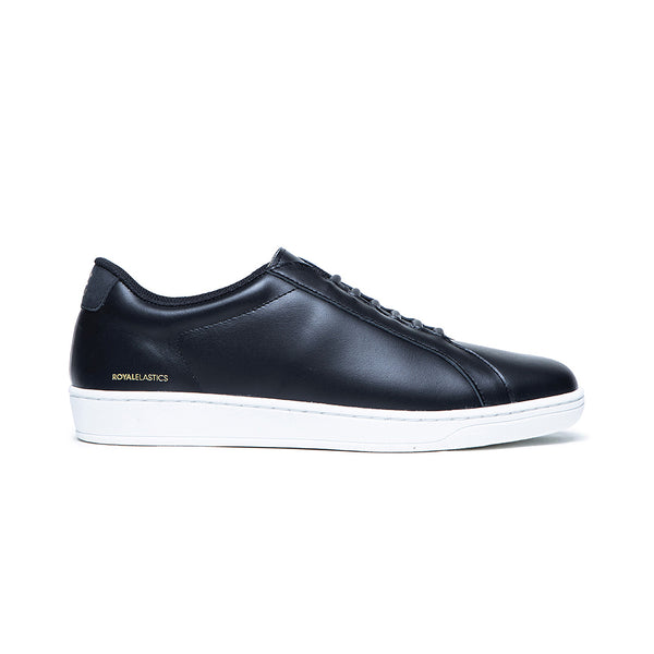 Women's Lume Black Leather Sneakers 95012-999