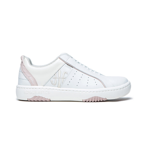 Women's Icon 2.0X White Pink Leather Sneakers 96312-001