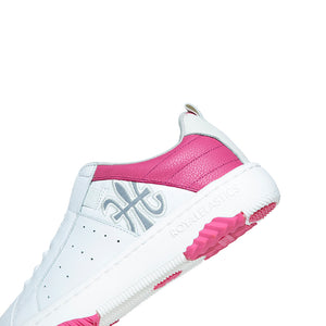Women's Icon 2.0 White Pink Leather Sneakers 96502-010